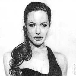 Angelina Jolie by mravey