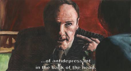 The Sopranos - S01E01 - 45m Tony by mravey