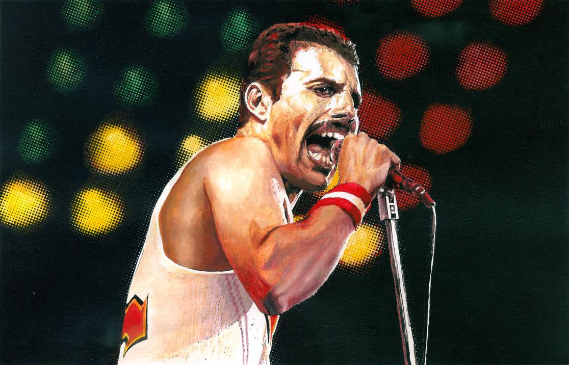 Freddie Mercury 1982 by mravey