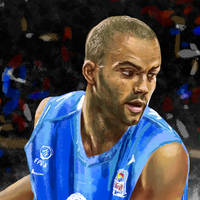 TonyParker - FIBA - 2010 - Details