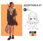 Adoptable (SOLD) by Morukawa by UsagiShop