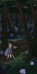 Lost Woods by cyen