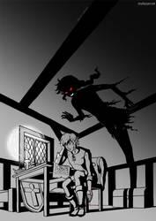 Approaching Shadow by cyen