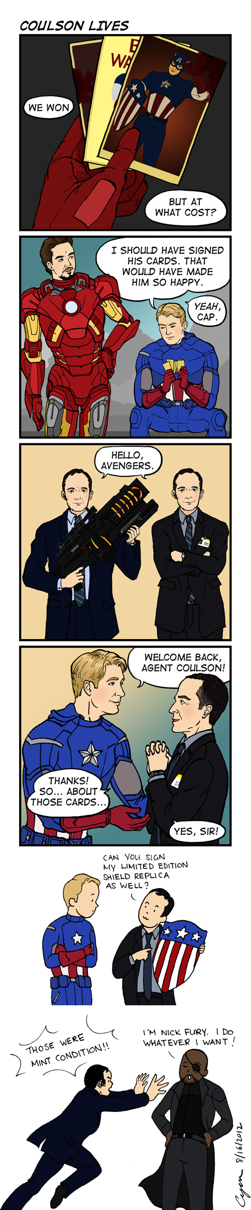Coulson Lives by cyen