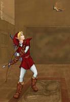 Link in Red by cyen