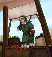 Fruit Stand by cyen