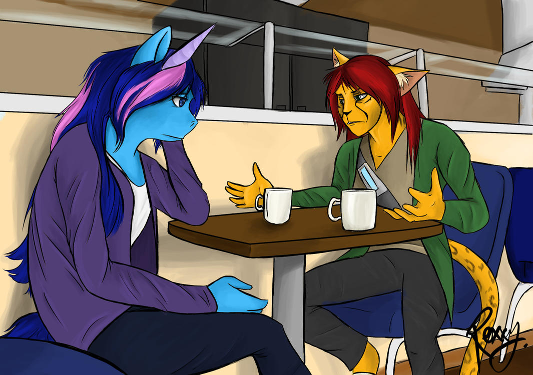 Coffeshop by Rexcaliburr