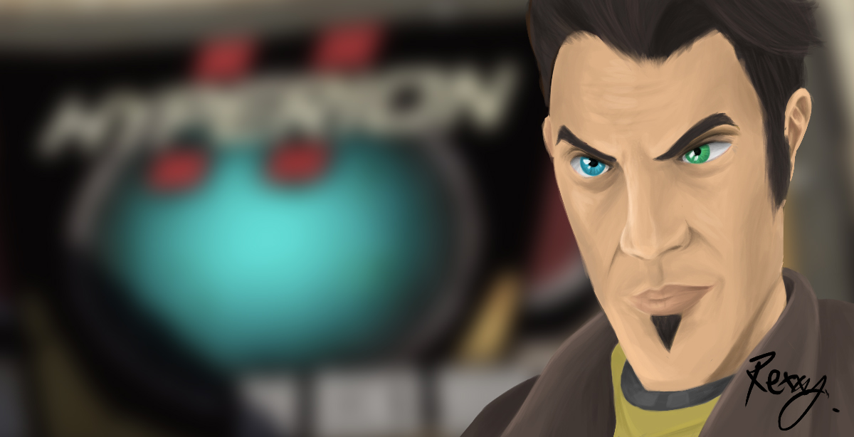 Handsome Jack by Rexcaliburr