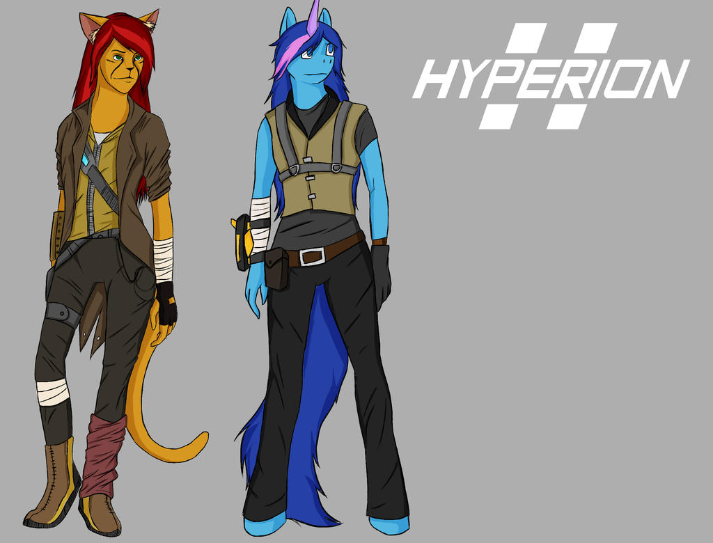 Hyperion Girls - Concept by Rexcaliburr