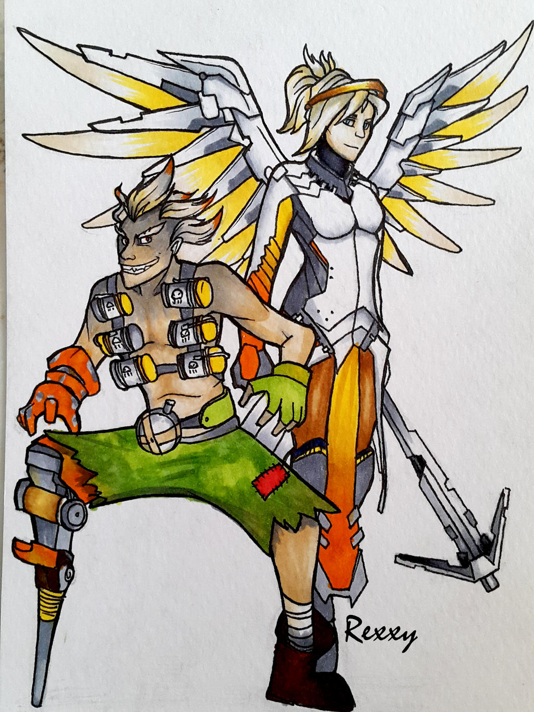 Mercy X Junkrat