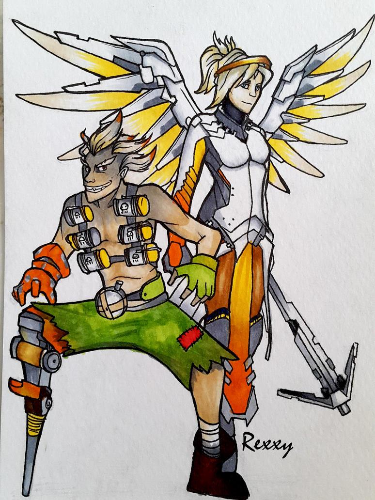 Mercy And Junkrat