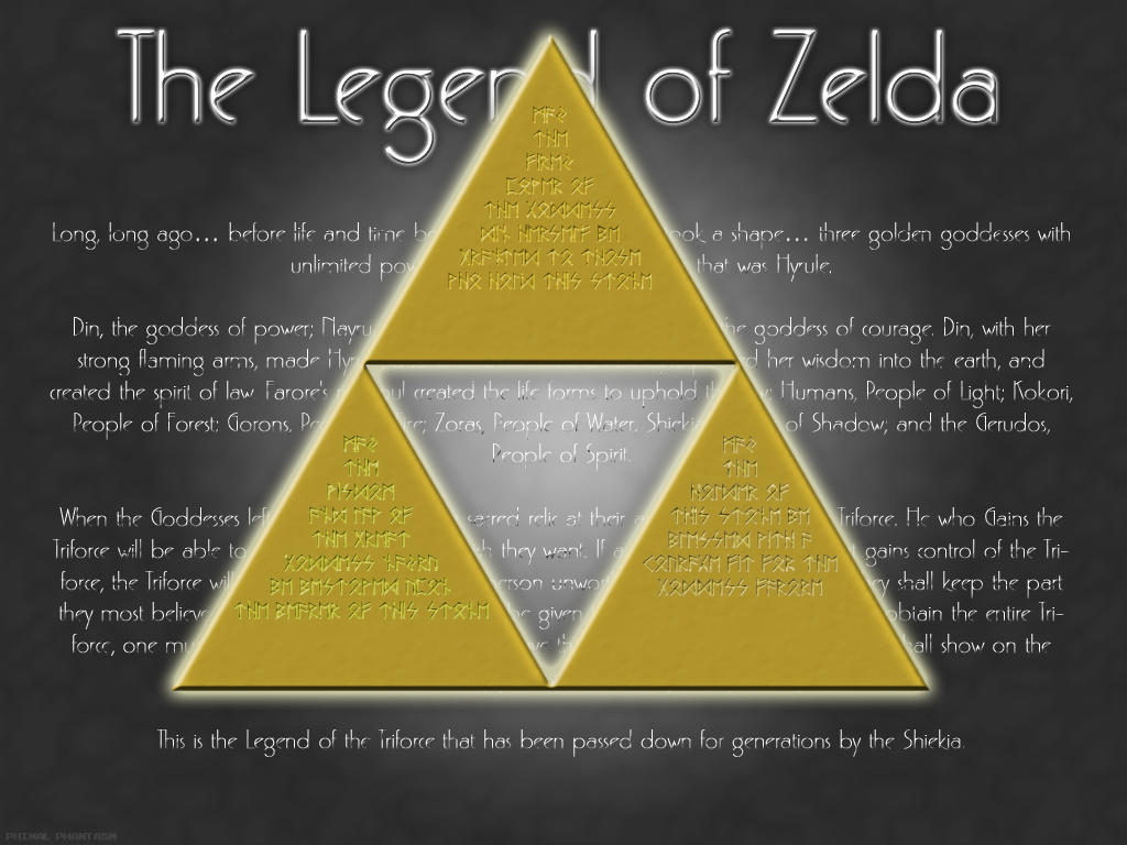 Legend Of Zelda Triforce By Phinalphantasm On Deviantart