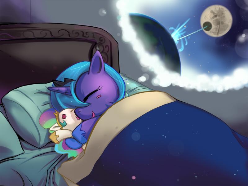 MLP FIM : Luna's sweet dream