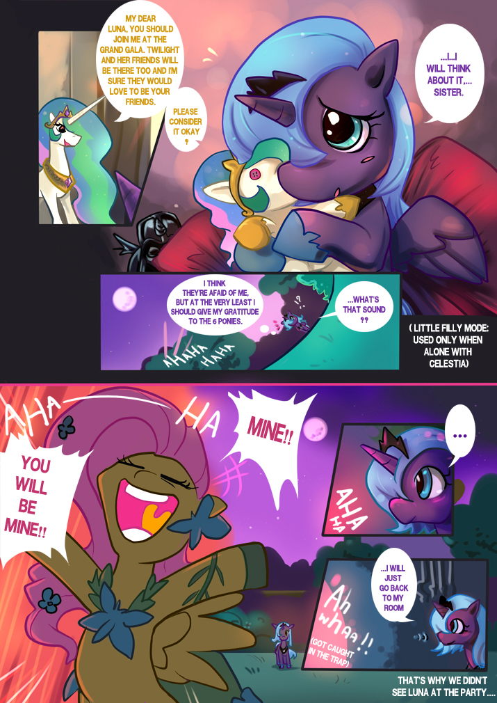 MLP Fim : Luna at the Gala