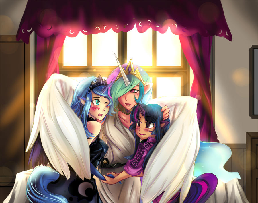 MLP FIM : My beloved ones by bakki