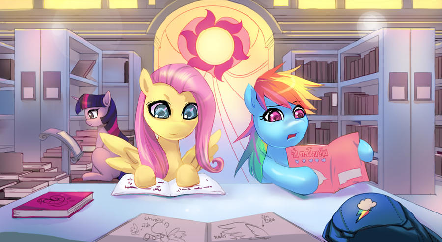 CM : Reading Time by bakki