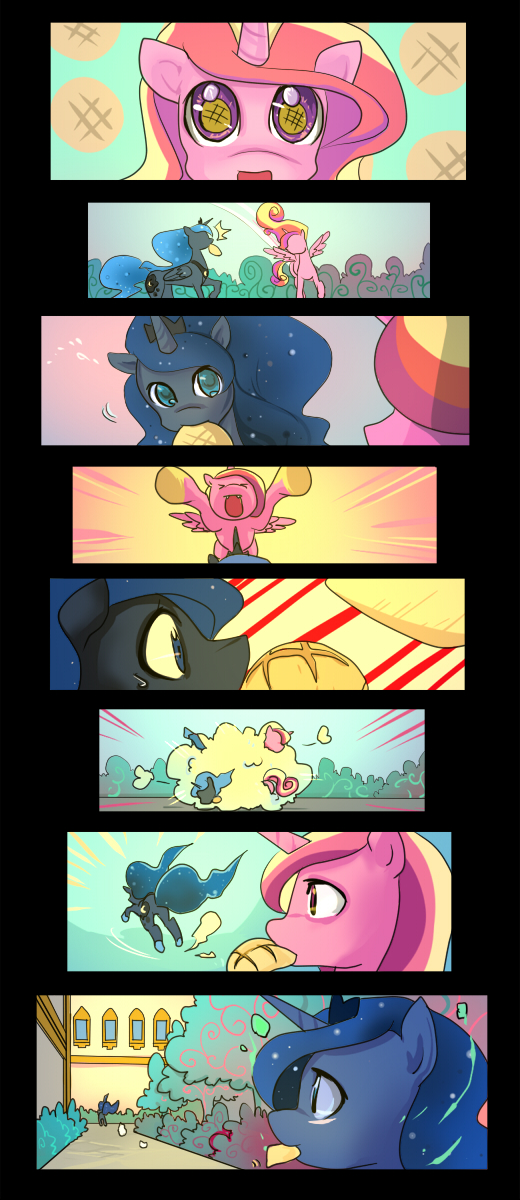 Melonpan-Tackle by bakki