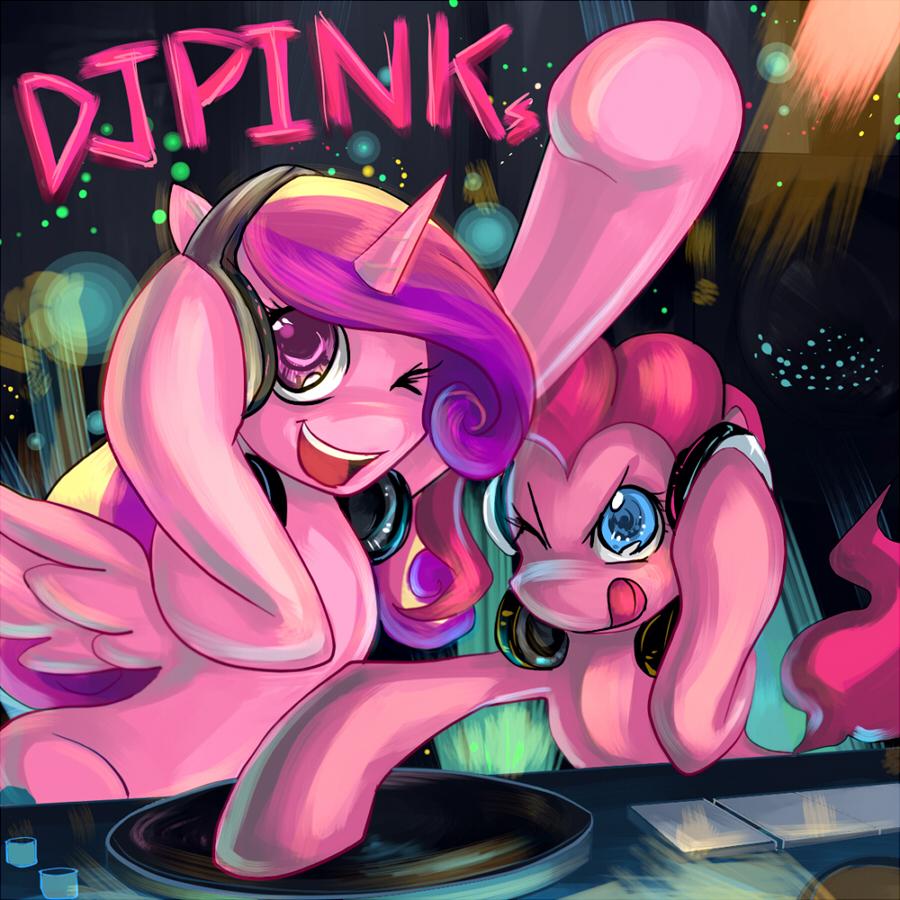 Commission : DJ PINKs by bakki