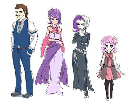 Rarity's Family