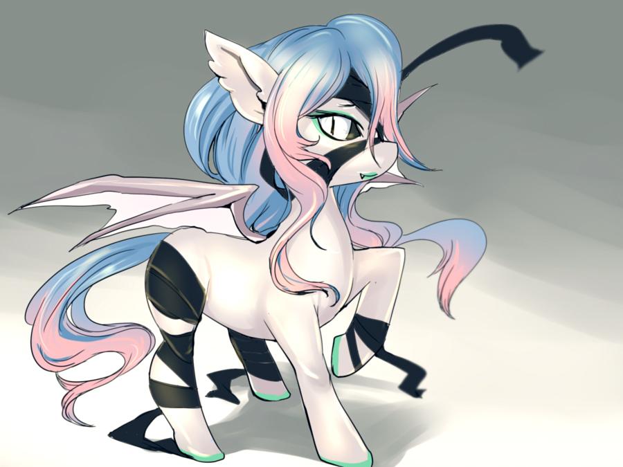 Bat Pony by bakki