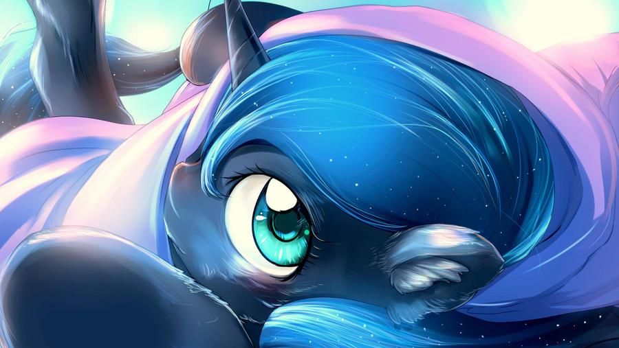 Fluffy Luna by bakki