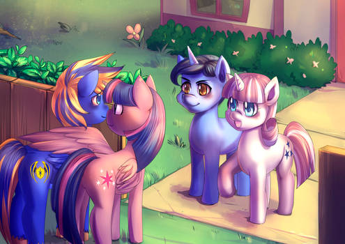 Commission: Meeting the Sparkles