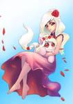 Commission: Floral Embrace
