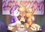 Commission: A sweet Birthday Surprise