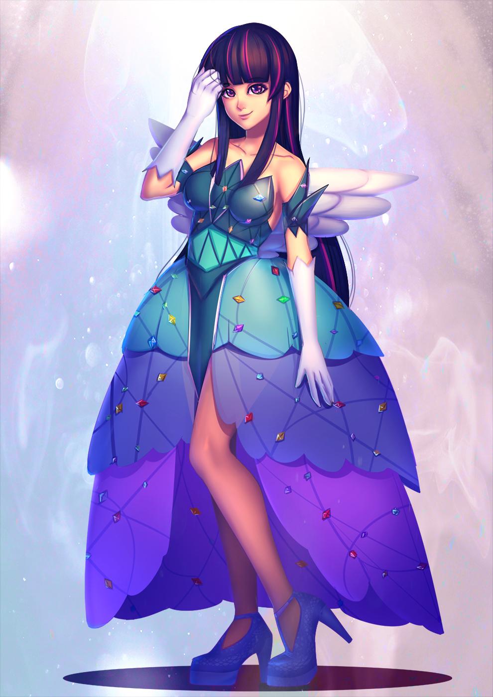 commission: Gijinka - Princess Dress