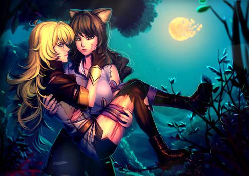CM: A Huntresses' midnight stroll