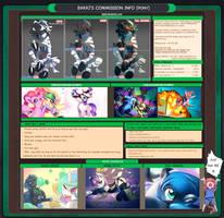 Commission info 2017 (pony) by bakki