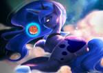 Commission: Moon Princess Mooncake