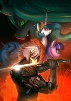 <b>[commission] Metal Gear Rising : Equestria</b><br><i>bakki</i>