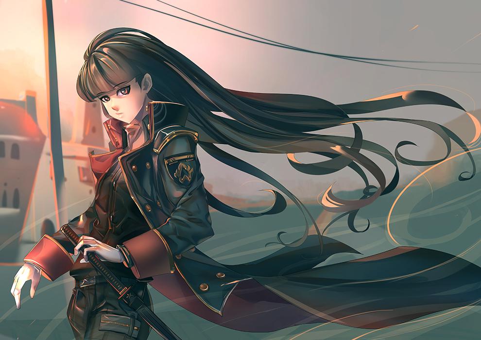 OC : Akira by bakki