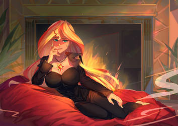 [cm] Evening With Ms. Sunset Shimmer by bakki