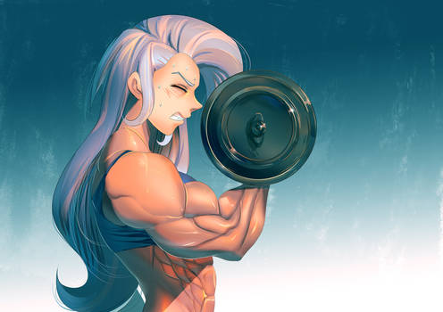 [cm] Trixie Pumping Iron