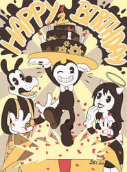 Happy 2nd birthday BATIM ! by SKY-Lia