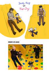 Daddy Henry vs Papa Joey by SKY-Lia