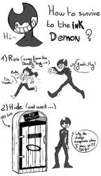 How to survive to the ink demon by SKY-Lia