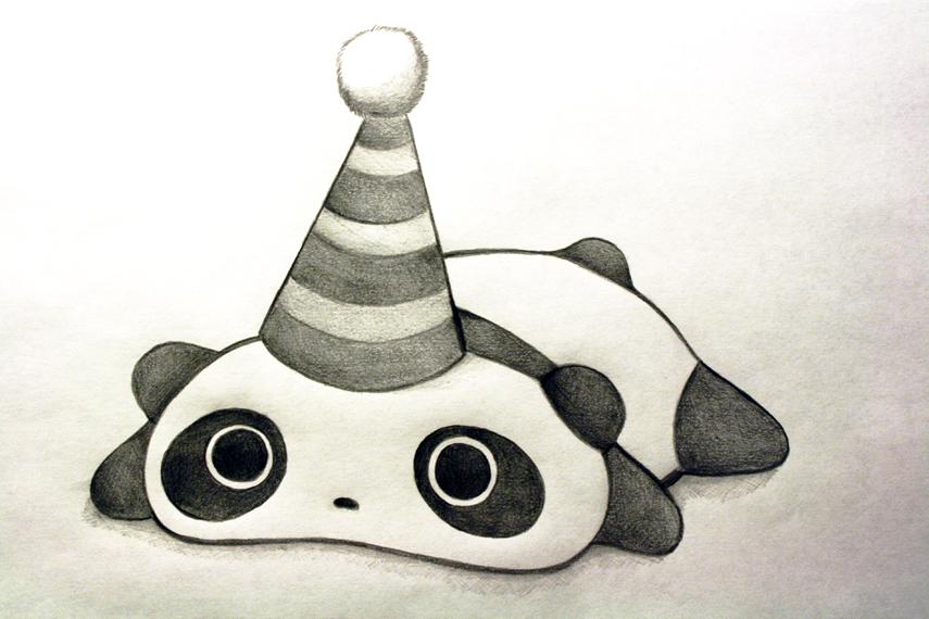 Cake Person Sketch