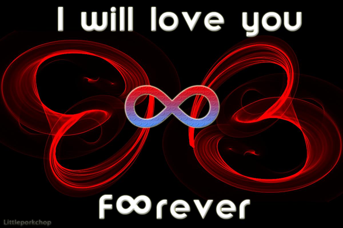 i will love you forever by littleporkchop on deviantart. Black Bedroom Furniture Sets. Home Design Ideas