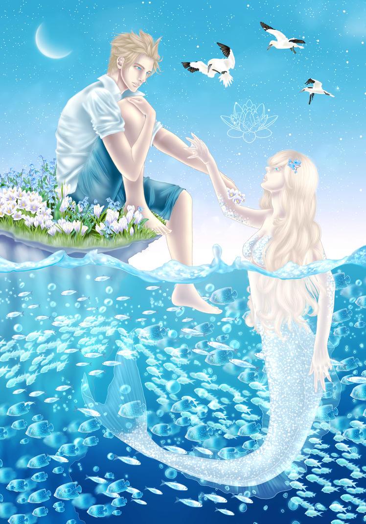 North mermaid by YaroslavaPanina