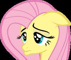 Sad Fluttershy - Vector by TheSharp0ne