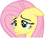 Sad Fluttershy - Vector