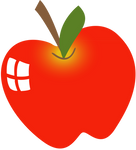 The Perfect Apple - Vector