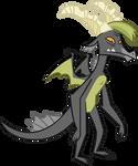 Smokey The Dragon - Vector