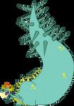 Tiny The Dragon - Vector