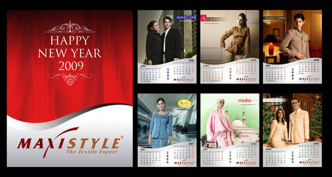 Maxistyle Calendar 2009 by YulizarZ