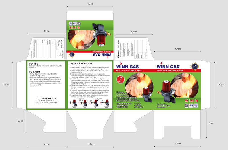 Winn Gas Regulator Packaging by YulizarZ