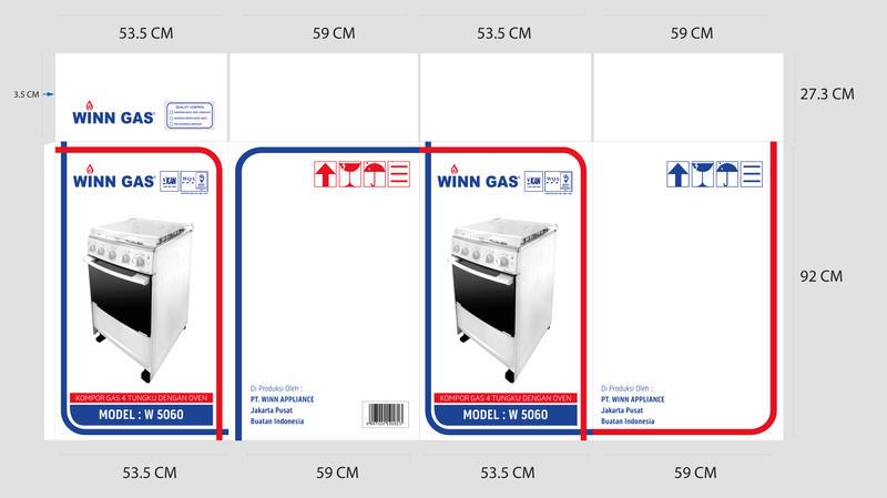 Winn Gas W5060 Packaging by YulizarZ